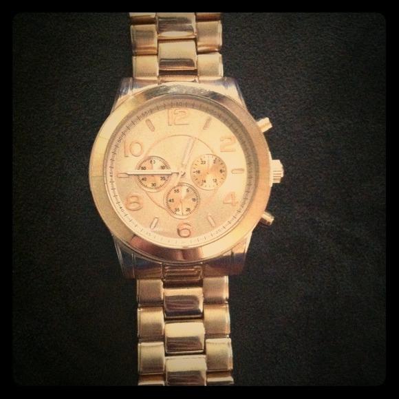 ALDO Jewelry Rose Gold Watch Poshmark