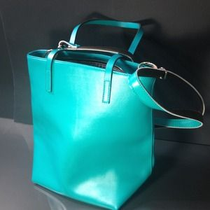 Aquamarine Shoulder Bag