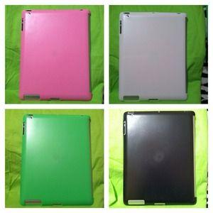 Accessories - Pink & Green iPad 2/3 case bundle