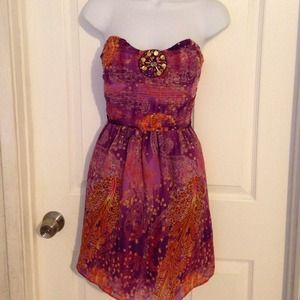 Sz L summer dress