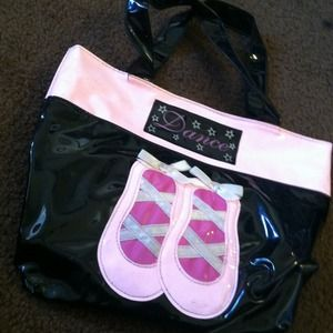 Small children's dance bag