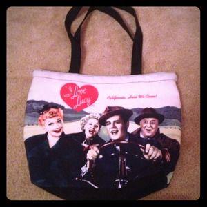 I love Lucy purse