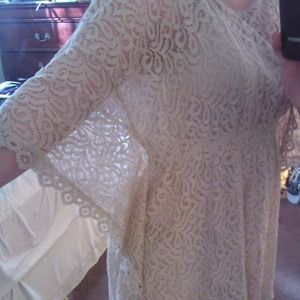 Image result for style&co short sleeve lace