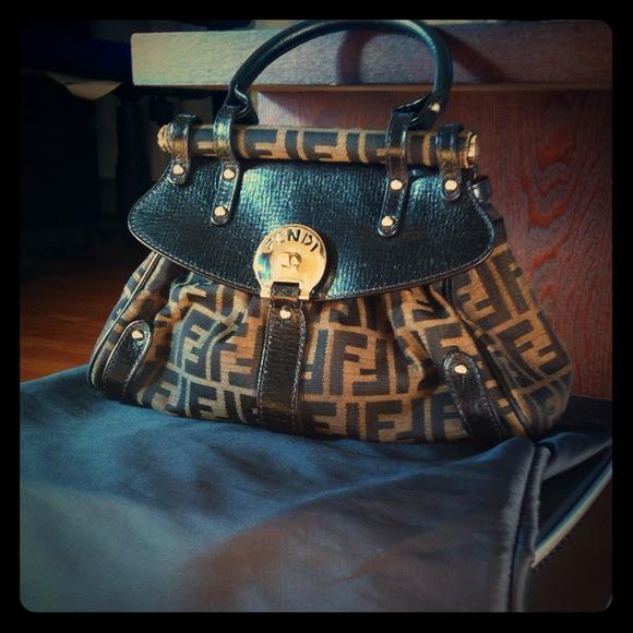 606e5f51f584 FENDI Handbags - Fendi Zucca