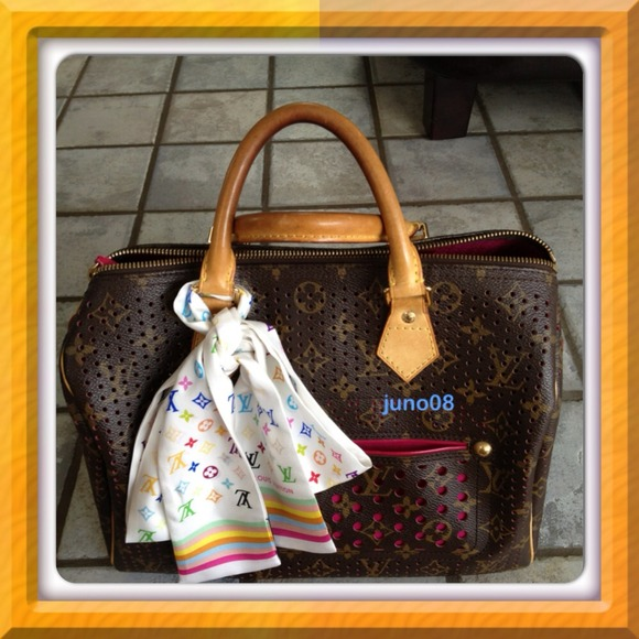 01cfaee22c96 Louis Vuitton Handbags - Authentic LV Perforated Speedy Pink