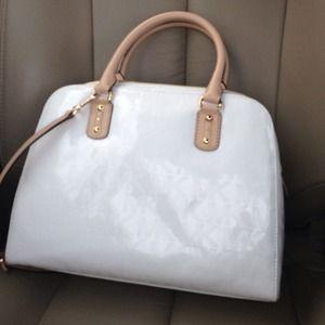 Handbags - Authentic White Michael Kors Satchel