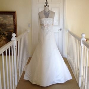Cyber Monday sale 🎉🎈Satin Wedding Dress