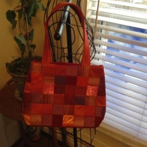 Fill this Patchwork bag w/gifts for Christmas