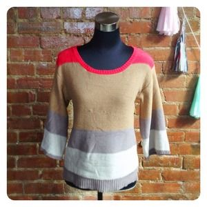 HALF OFF SALE | Color Blocked Sweater