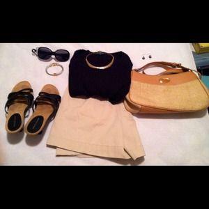Liz Claiborne Liz Sport Petite Sz. 12 Khaki Shorts