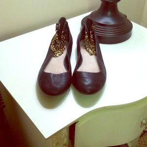 GAP Shoes - Gap black leather flats