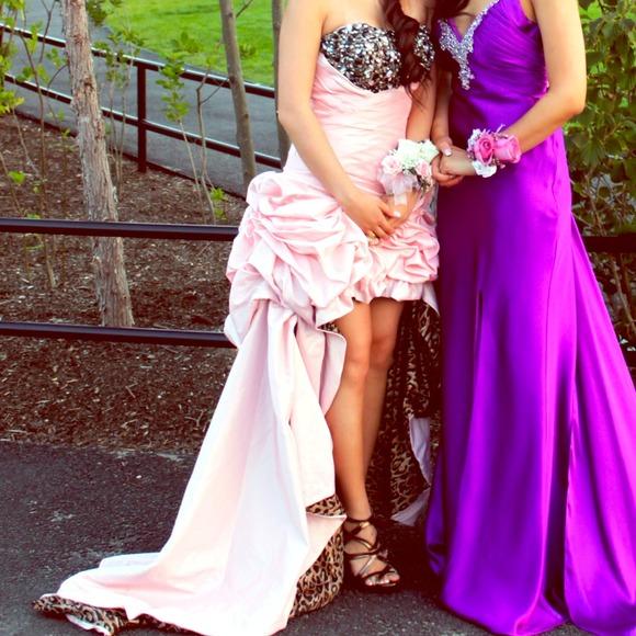 Tony Bowls Dresses | Pinkleopard Evening Gown Prom Dress | Poshmark