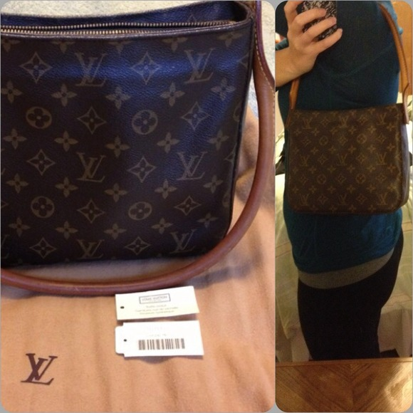 a3f6fa254337 Louis Vuitton Handbags - Authentic Louis Vuitton Monogram Looping MM Tote