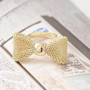 Accessories - UNAVAILABLE   Cute bow ring!