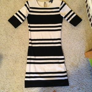 French Connection fitted dress sz 4