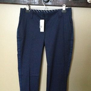 NWT Nautica Navy ankle pant and bracelet.