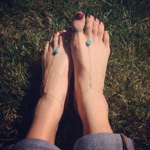 Jewelry - Barefoot sandals, foot jewelry , handmade designs