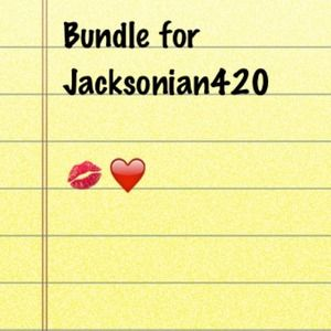 Other - ❤❤ bundle for Jacksonian420 !!