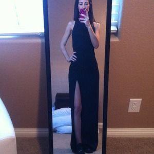 Black evening dress! Worn once!