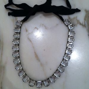 Super Glam Large rhinestone necklace