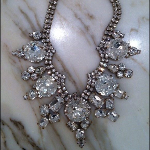 Jewelry - Vintage from 1960s Gorgeous Glam Necklace