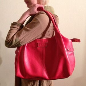 kate spade Handbags - **ON HOLD**Authentic KATE SPADE red leather purse