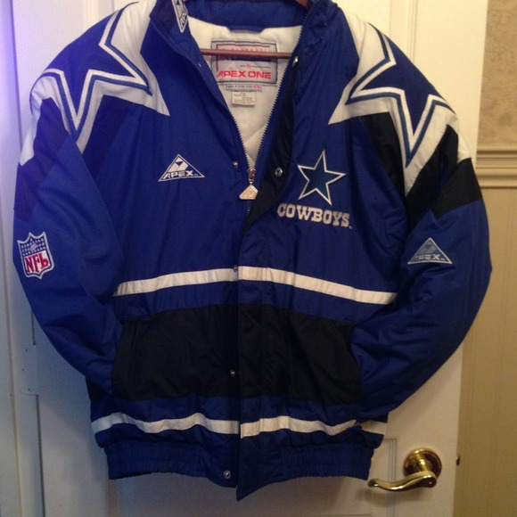 sale retailer 36405 d604a Dallas Cowboys Jacket men's size M by Apex