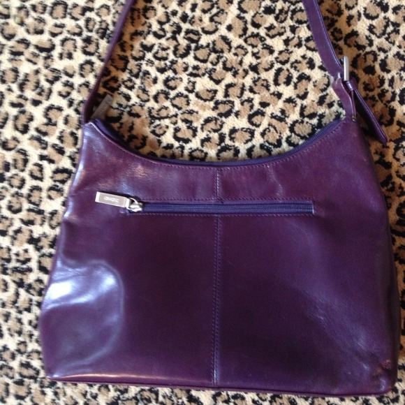 HOBO International Handbags - HOBO int'l Purse EggplantPurple wGreen ...
