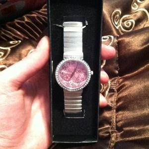 Accessories - New in box watch! Pink no stones missing