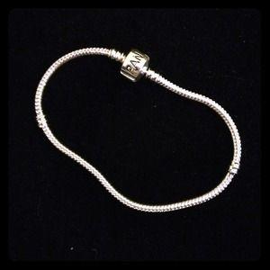 Jewelry - *Reduced* Pandora style 925 silver chain bracelet