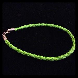 Jewelry - *Reduced* Braided leather bracelet