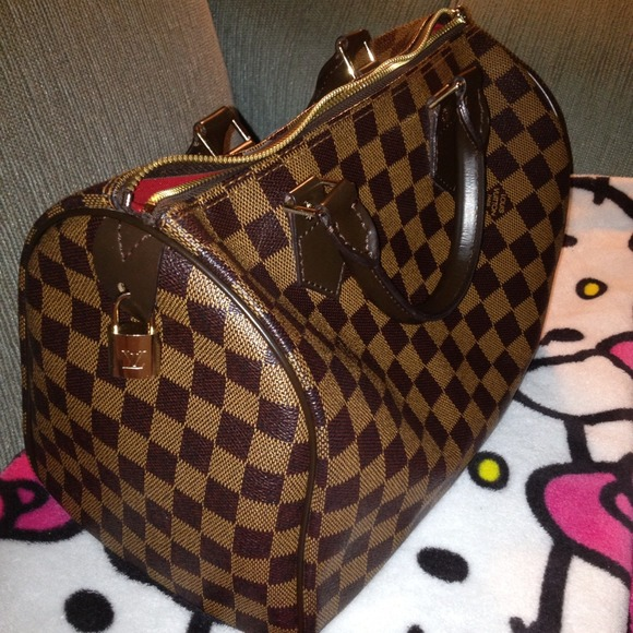 7ccc3f9ba973 Louis Vuitton Handbags - Louis Vuitton Speedy 30 Damier Ebene