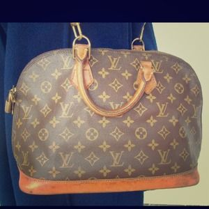 Authentic vintage Louis Vuitton Alma Satchel