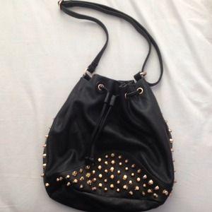 Tobi Bags - Studded Bucket Handbag
