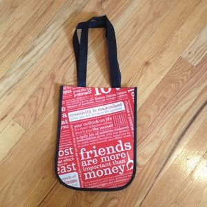 Lululemon small reusable bag