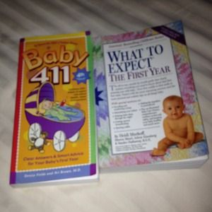 Other - Baby books for moms!!!