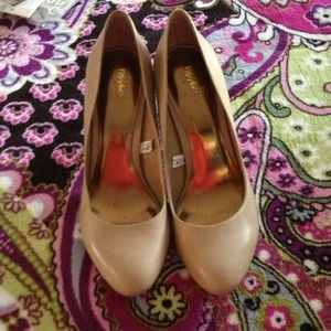 Mossimo Shoes - Nude color heels