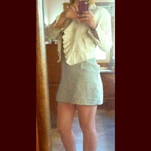 Dresses & Skirts - 🌻REDUCED🌻Light green linen spring dress!