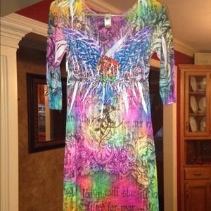 Dresses & Skirts - 3/4 length dress! Size S