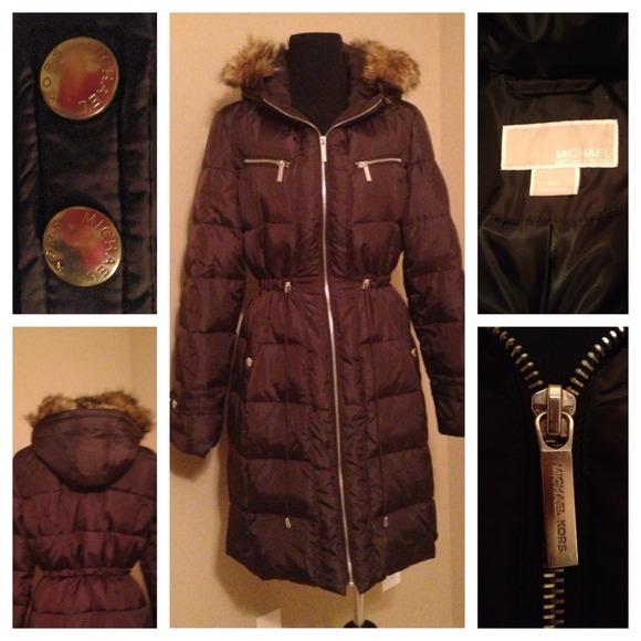 24179ea19 Authentic Michael Kors car-length winter coat