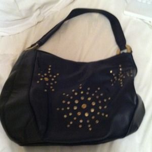 Black and Gold Handbag