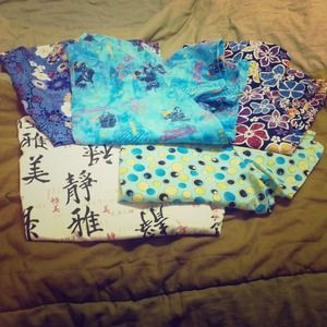 Other - Gently used scrub tops.