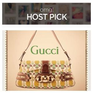 Host Pick  GUCCI Pineapple Shoulder Bag