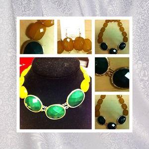 Dark mustard color jewelry on poshmark for Mustard colored costume jewelry