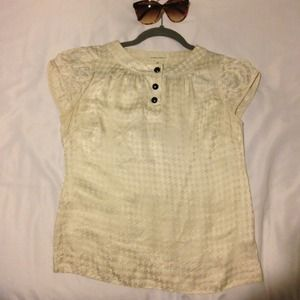 REDUCEDBanana Republic Jacquard Blouse