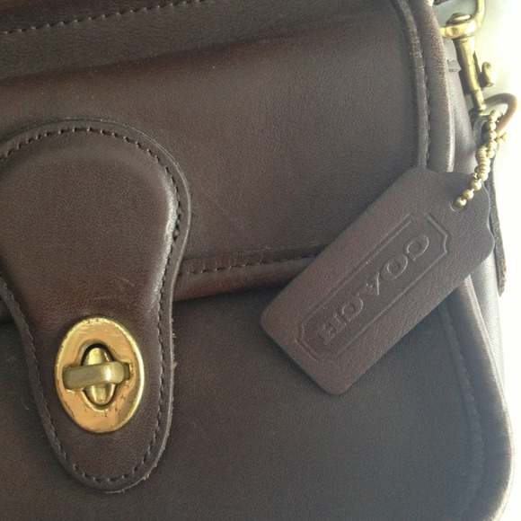 37 off coach handbags vintage coach brown leather
