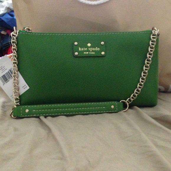 Bundled Emerald Kate Spade handbag n Lace Top
