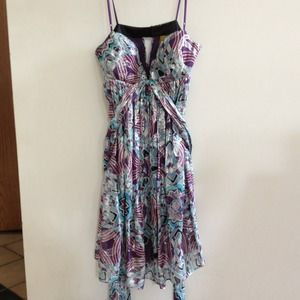 Nicole Miller Silk Dress (size 8)