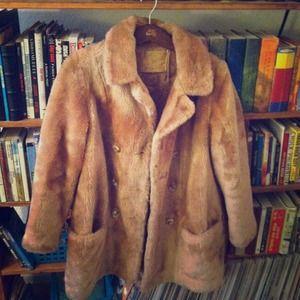 Bundle Vintage Fur Coat & White Maxi