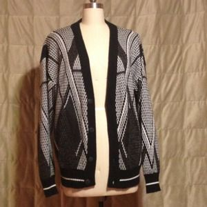 Black and white cardigan!